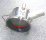 Слив КАС и топлива из ЖД цистерн головками ГС-75,  ГС100