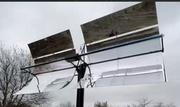 Сонячний дзеркальний концентратор для гарячого водопостачання